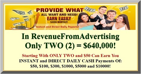 Revenue From Advertising